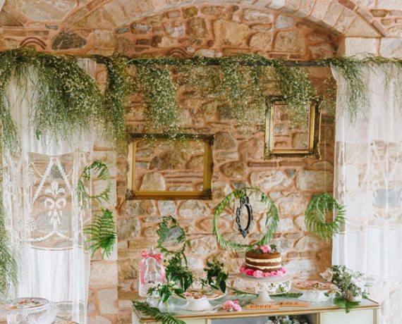 Botanical-chic wedding