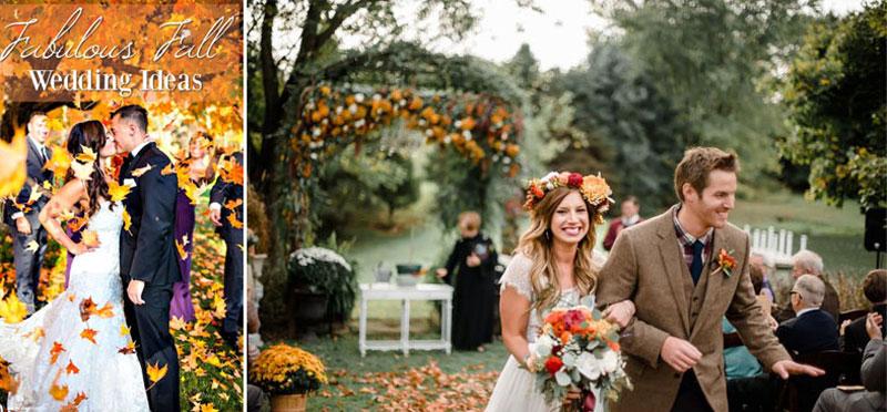 Fall-Wedding-Ideas, Φθινοπωρινός γάμος ιδεες