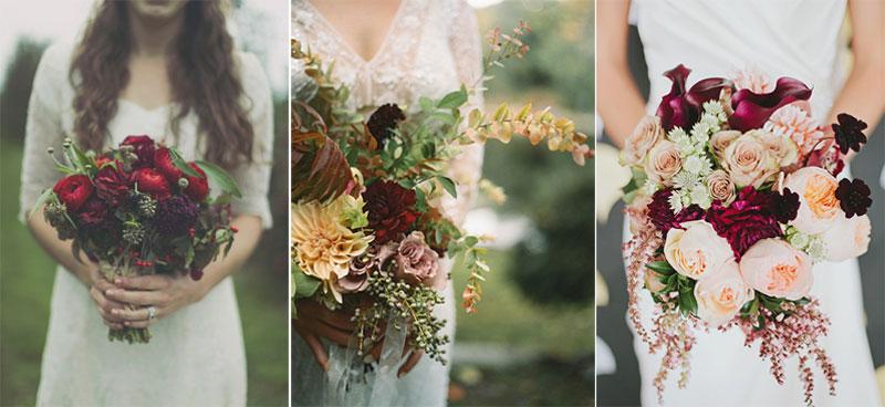 bridal bouquet bold colors, winter bridal bouquet, χειμωνιάτικη νυφική ανθοδέσμη με έντονα χρώματα