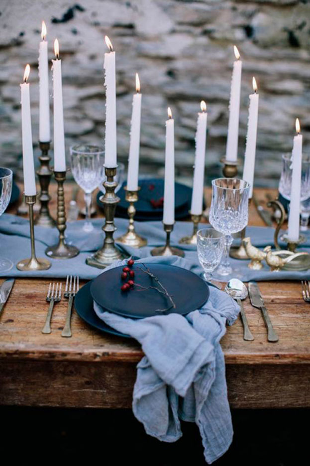 winter wedding tablescapes, setup χειμωνιάτικου γάμου, χειμερινός γάμος διακόσμηση τραπεζιών