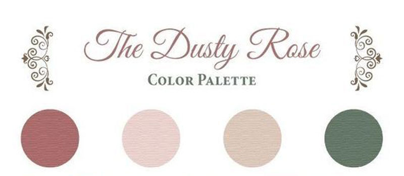 dusty pink color pink