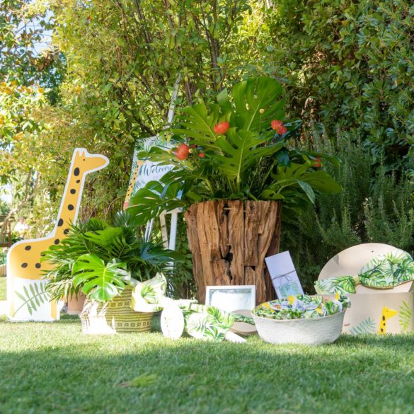 Jungle theme baptism