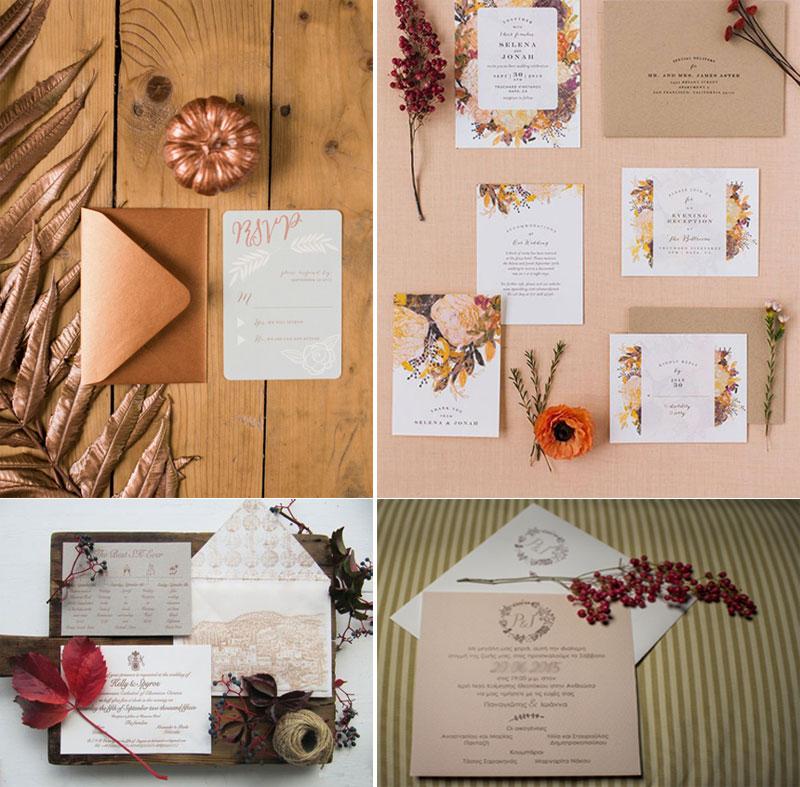 fall-wedding-invitation, Φθινοπωρινά προσκλητήρια