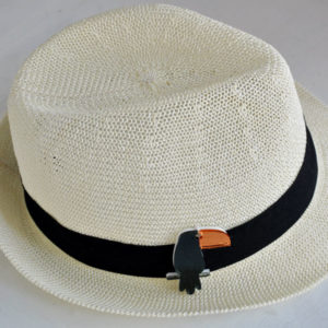 summer gifts, summer hat, Plexiglas toucan