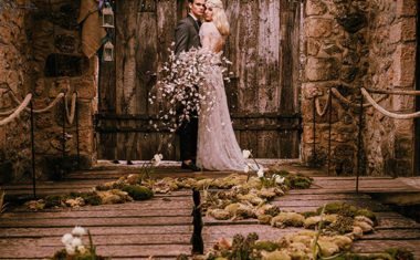 Enchanted forest wedding styled-shoot