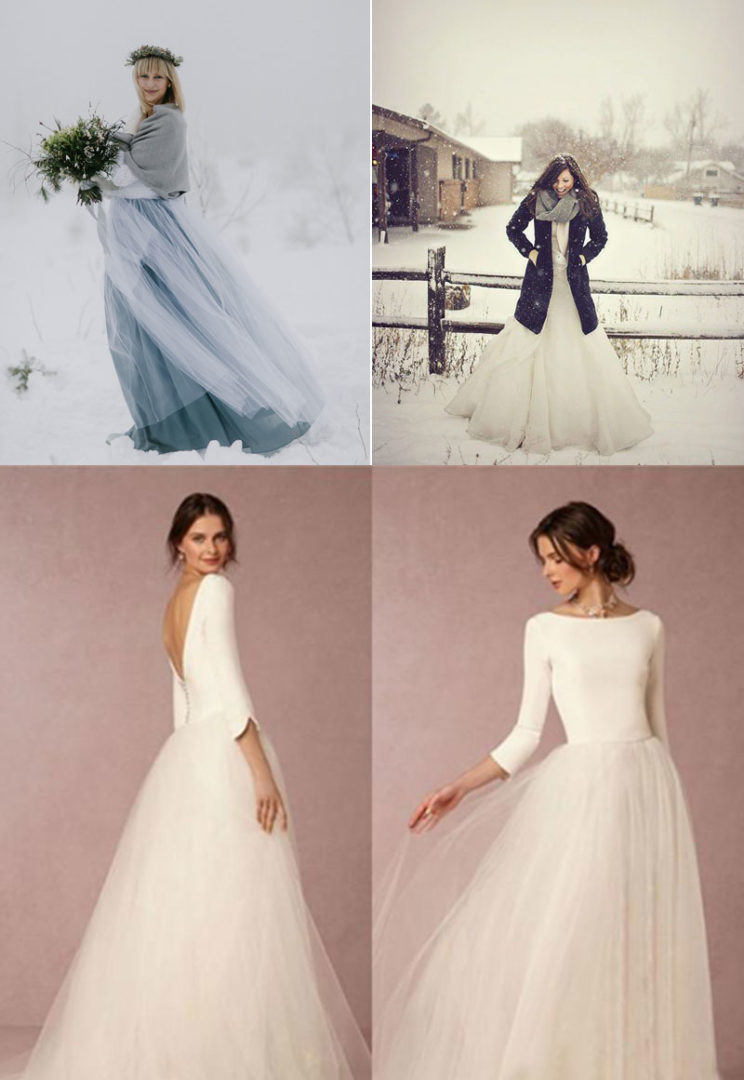 χειμωνιάτικο νυφικό, winter bridal dress, winter wedding