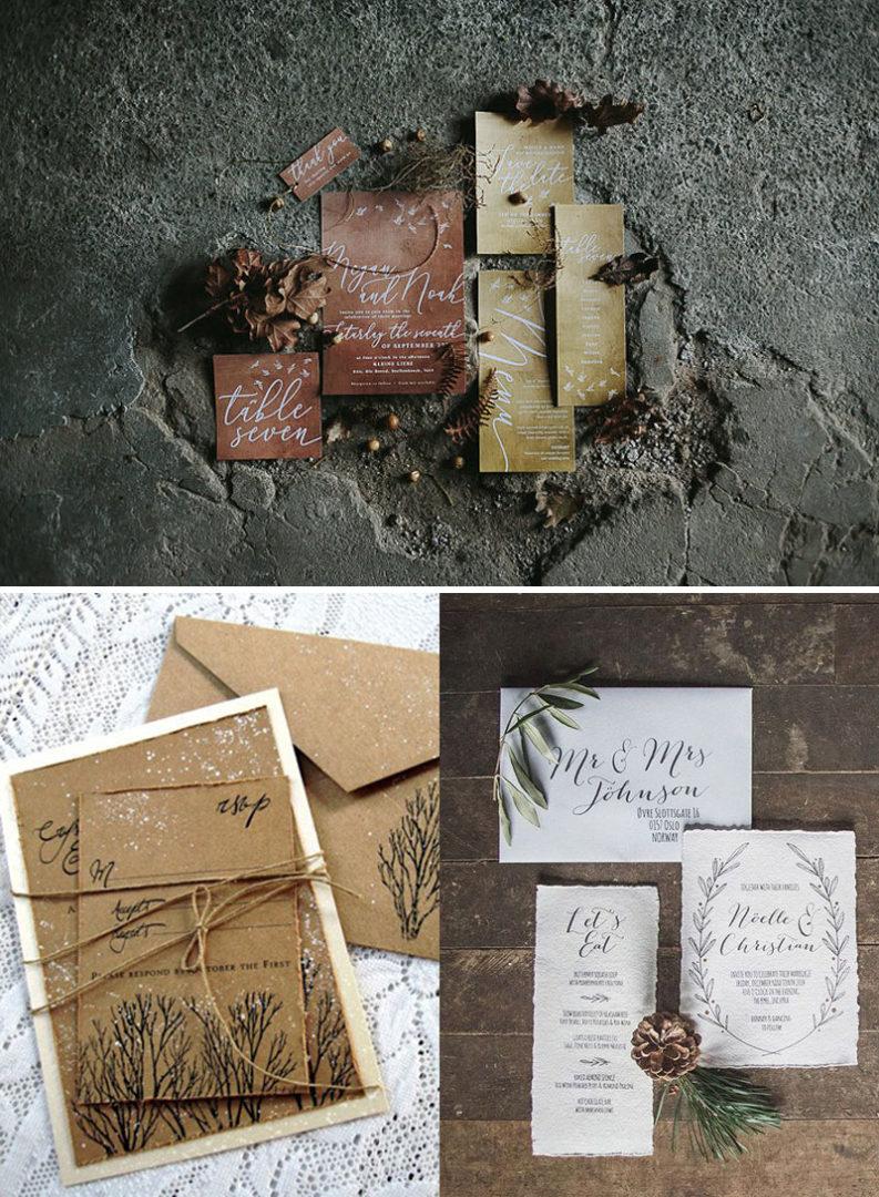 χειμωνιάτικος γάμος, προσκλητήρια, wedding invitations, winter wedding